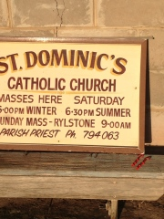 St Dominic's Church - a happy find
