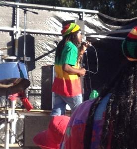 Eric Rennaud fronting Caribbean Soul