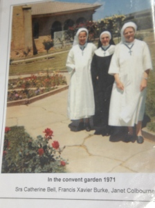 The garden in earlier days