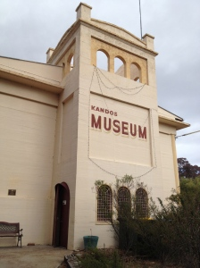 Our sister building - the Kandos Museum