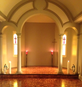 The Chapel greeted visitors for the first time since its makeover