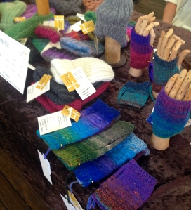 The Noro mitts sold well - both as kits and finished knits