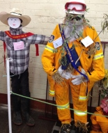 What's a country show without a scarecrow competition