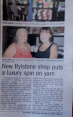 Local coverage of the shop's opening