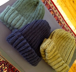 Blokey beanies in cashmere wool blends and alpaca.