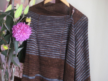 Knitted a few years ago but a well-worn favourite and due for an encore!