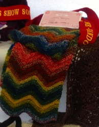 Zig Zag Scarf representing us at the Show