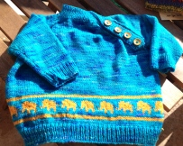 This one was in Claudia's Handpainted Yarn.